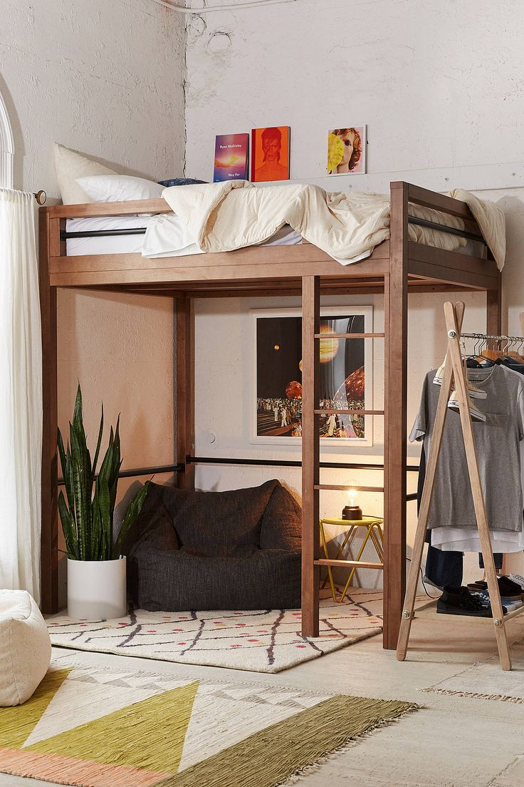 Best 25 Adult Loft Bed Ideas On Pinterest Small Loft