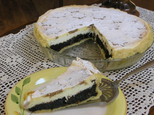 Vynikajúci makovo-tvarohový koláč s 5 hviezdičkami *****