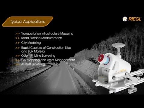 Click the picture to see the video of the RIEGL VMQ-1HA, a compact and economically priced high-speed, single scanner mobile mapping system. It is well suited for a variety of mobile mapping applications.  Message us for video use.