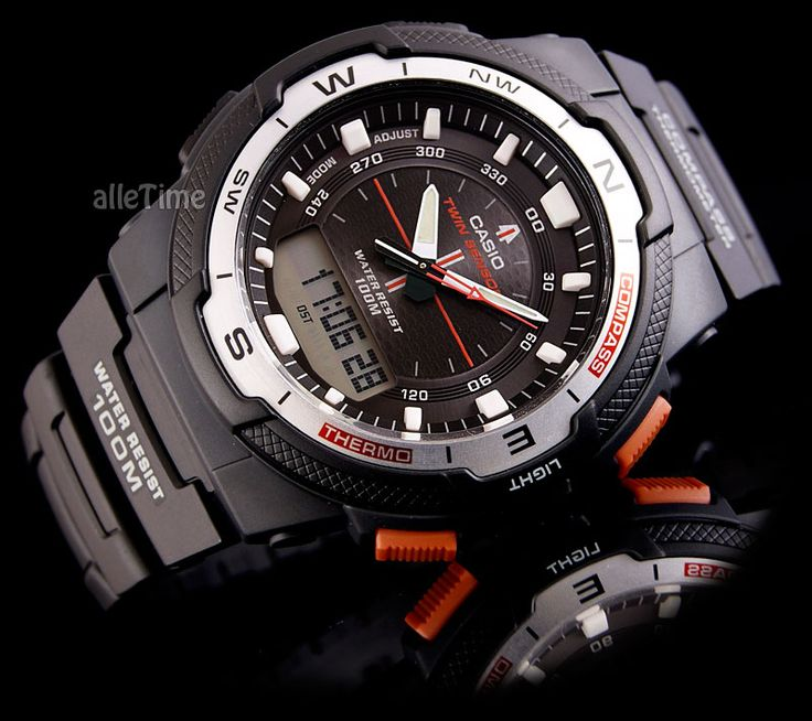 Zegarek męski CASIO - MAGNUS - kompas , termometr (4897296064) - Allegro.pl - Więcej niż aukcje.
