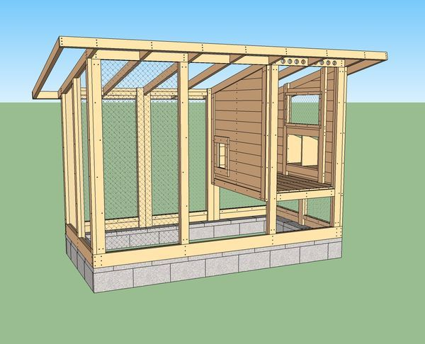 Genius Chicken coop blog - go here next Spring! Wichita Cabin Coop - BackYard Chickens Community