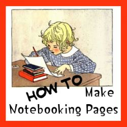 How to make your own notebooking pages with Microsoft Publisher.