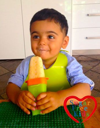 Icy Poles do not need any sugar to taste delicious, summer fruits are sweet enough and the novelty of having something cold is very fun for the little ones. There are many variations you can make to this recipe, we also love replacing the coconut cream with natural yogurt or coconut water
