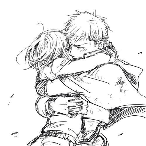 Mikasa x Jean, Jeankasa, Attack on titan, AOT, SNK