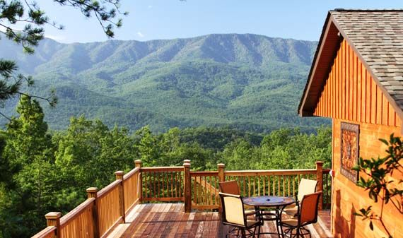A Luxury View - 1 Bedroom, 1.5 Bathroom Cabin Rental in Gatlinburg, Tennessee.