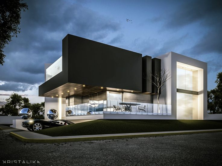 17 best images about arquitetura inspira es on pinterest for Architecture facade villa