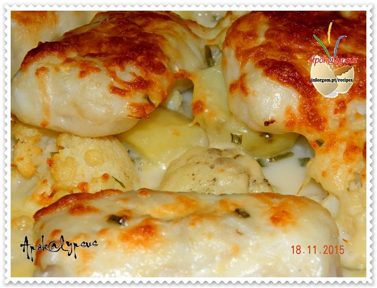Lombos de Pescada com Couve-Flor Gratinados – Cooking Recipes by Apok@lypsus