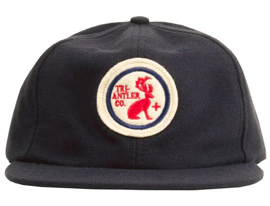 Navy Vintage Baseball Cap by TRI-ANTLER   .....................Please save this pin.   .............................. Because for vintage collectibles - Click on the following link!.. http://www.ebay.com/usr/prestige_online