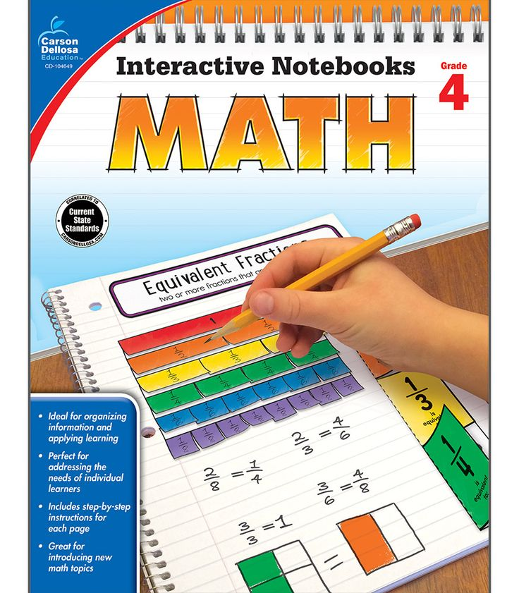 PINTEREST EXCLUSIVE – Take $5 off any order of $30 or more. Click through and use promo code PCA0915 at checkout! Interactive Notebooks: Math Resource Book