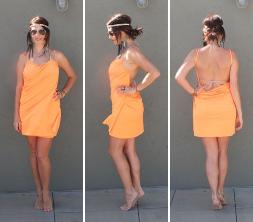 Turn Any Yard of Fabric into a Chic Beach Wrap - Brit & Co. - Style