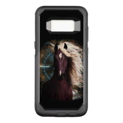 OtterBox Commuter Series Star Struck - pick type OtterBox Commuter Samsung Galaxy S8 Case - horse animal horses riding freedom