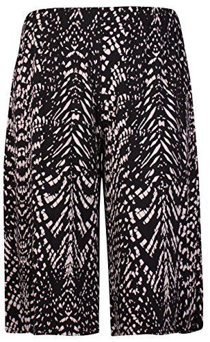 Womens New Plus Size Spot Paisley Print Ladies Stretch Wide Leg Culottes Shorts Plus Size Print Culottes Elasticated Shorts Spot,Paisley Or Flower Print Stretch Fabric Length 66cms / 26 inches  95% Viscose 5% Elastane Hand-wash only  http://darrenblogs.com/uk/2018/03/01/womens-plus-size-floral-spot-paisley-print-ladies-stretch-elasticated-waist-wide-leg-culottes-shorts/