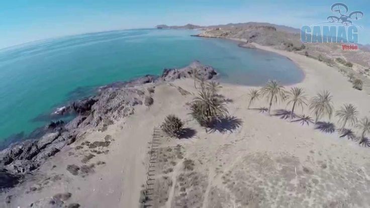 La playa de Mazarrón en Murcia http://alquilercochesespana.soloibiza.com/la-playa-mazarron-murcia/ #España