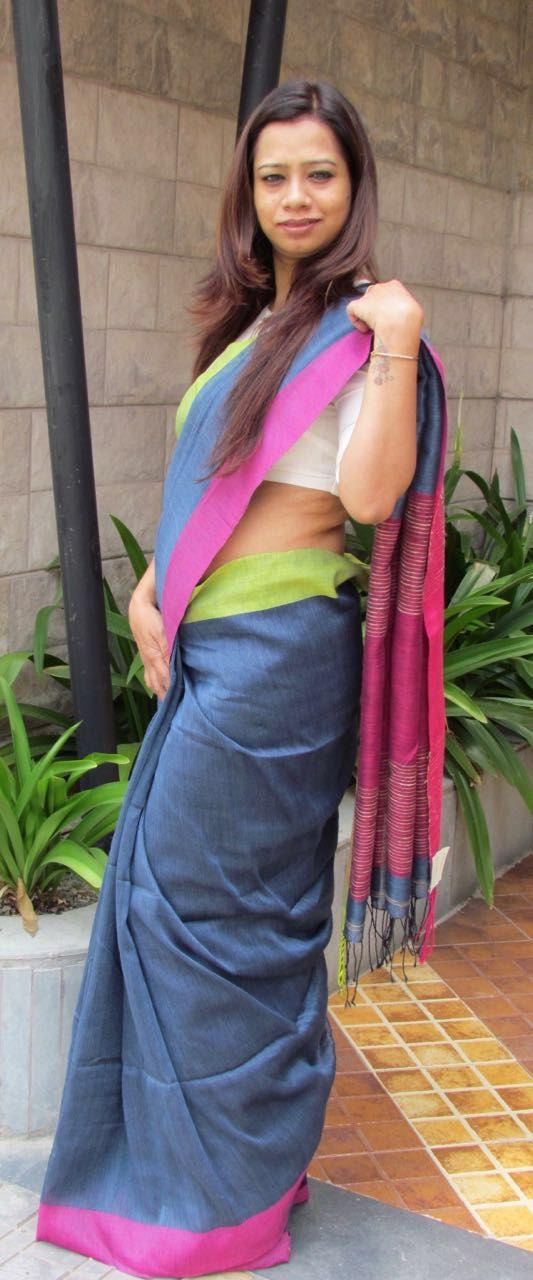 Linen #Saree