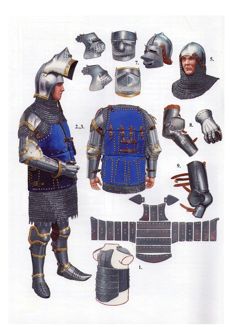 Armadura de caballería (siglo XIV)