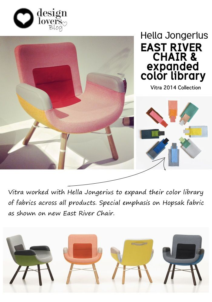 East river chair colors vitra lounge pinterest for Grand repos chair replica