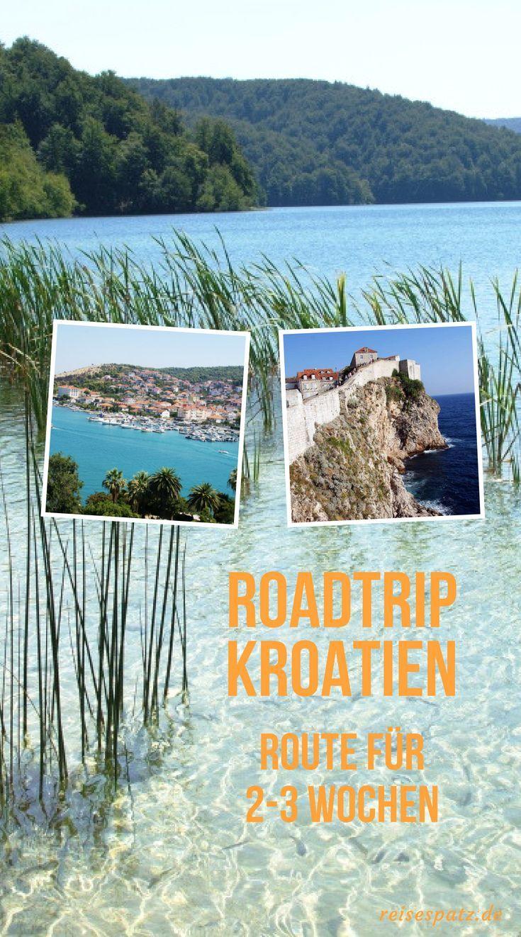 Reiseroute für Ihren Kroatien Urlaub. Viele Tipps für Ihre Kroatienreise   – ☞  Europa Road Trips