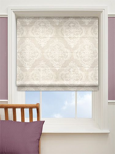 Chantilly Natural Roman Blind from Blinds 2go