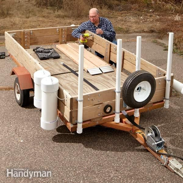 25 Unique Utility Trailer Ideas On Pinterest 4x8