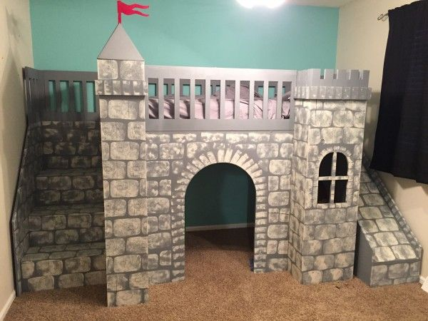 James' Castle Loft Bed | Do It Yourself Home Projects from Ana White