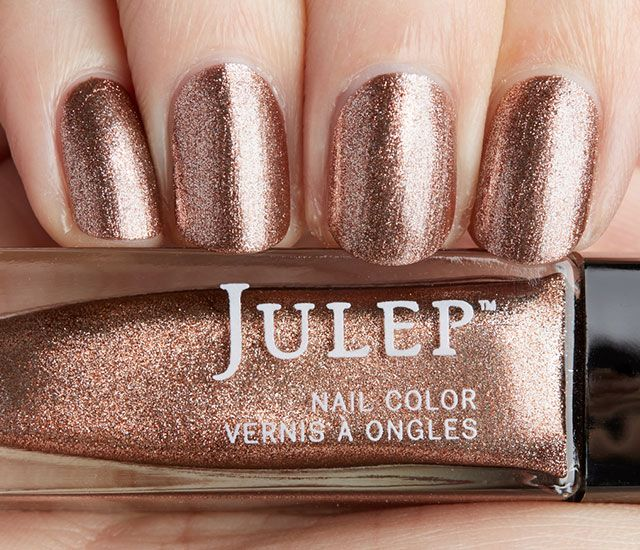 Julep Penny: Burnished bronze metallic