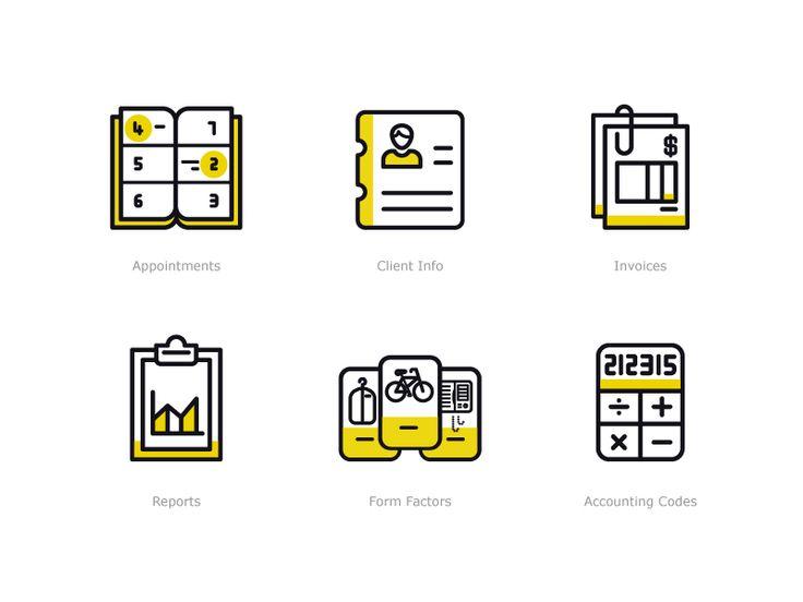 Boxbee Dashboard Icons  by Sooodesign