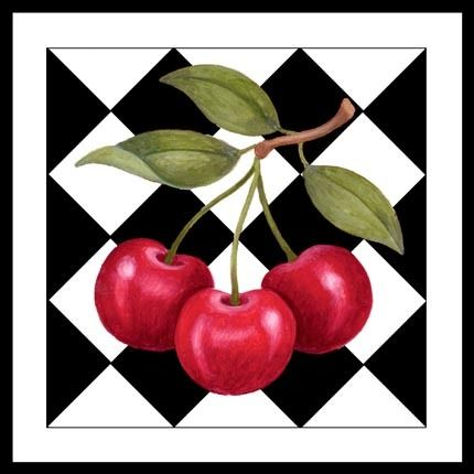Cherries on Checks (Stephanie Stouffer)