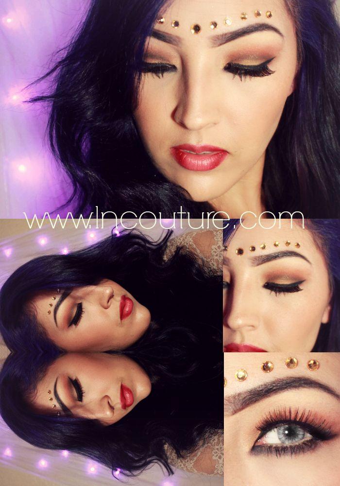 |Gypsy Queen| dramatic makeup, makeup, makeup artist, san ...