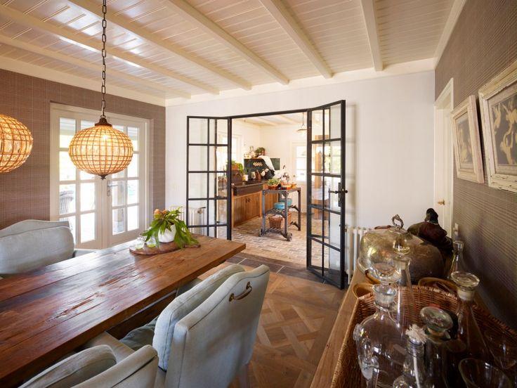 Stalen deuren Landelijke stijl keuken/eetkamer 4