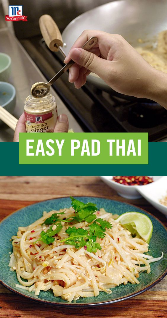 Make Bankgok street food at home with this easy pad thai recipe. Ready in just 10 minutes, it's a perfect busy weeknight dinner.