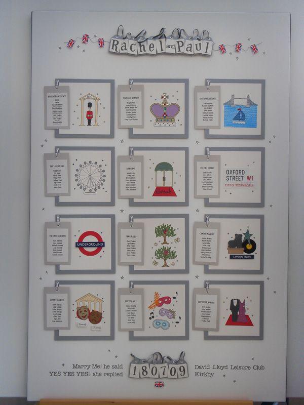 london table plan