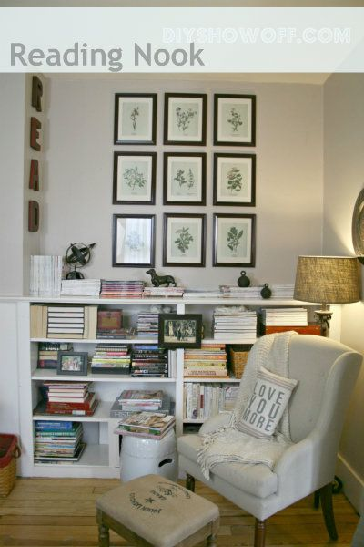 8 best images about small libraries on pinterest shelves for Best reading nooks