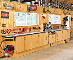 America's Best Home Workshops 2010, Part 2 | garage | Home workshop, Garage Workshop, Basement ...