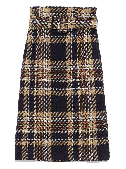 ベルト付タイトスカート(タイトスカート) Mila Owen(ミラ オーウェン) ファッション通販 ウサギオンライン公式通販サイト