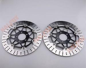 a front brake disc rotor for kawasaki zr550 zzr600 zr7 z750 z1000 zx 6r9r12r