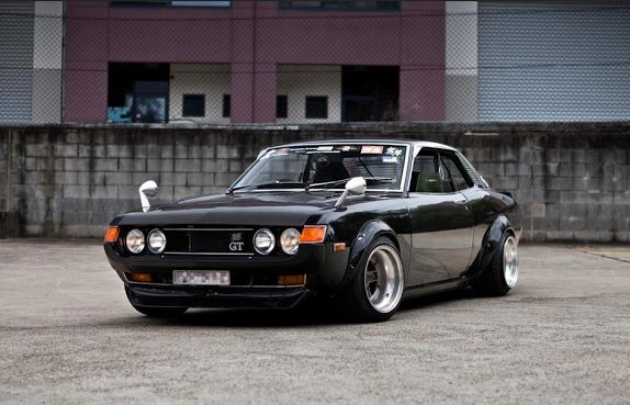 Toyota Celica Japanese Muscle Car Old School Pinterest