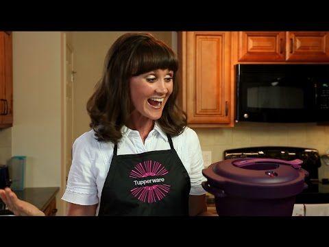 Tupperware Microwave Pressure Cooker - Roast in 30 Minutes! - YouTube