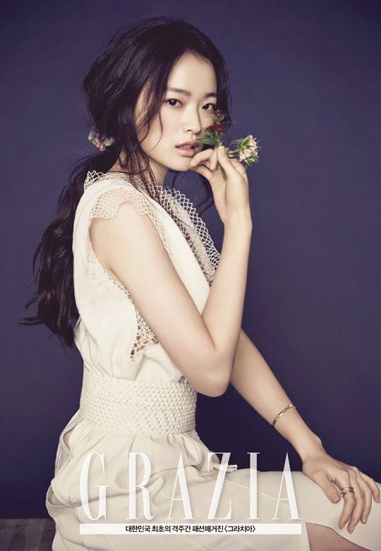 Cheon Woo Hee - Grazia Magazine March Issue '15