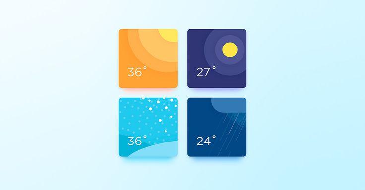 Weather app inspiration