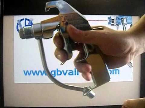 pistola airless prodotti densi - YouTube