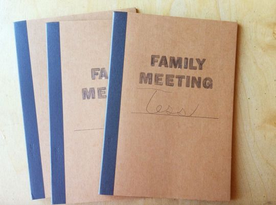 71 best Family Meeting images on Pinterest Activities, Deko and - How To Write Agenda For A Meeting