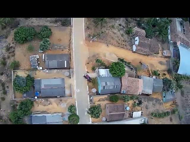 Drone Phantom Sobrevoo por Nazário - Mantena - MG 09/2016