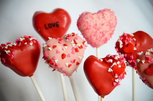 Valentine's Day cake pops: Valentines Party'S, Valentine Day, Valentines Day, Valentine'S S, Cake Pop, Pop Diseño, Valentine Party, Cakes Pops