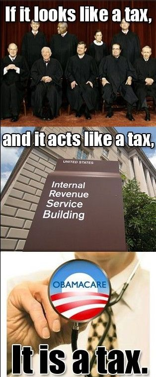 It is a tax!