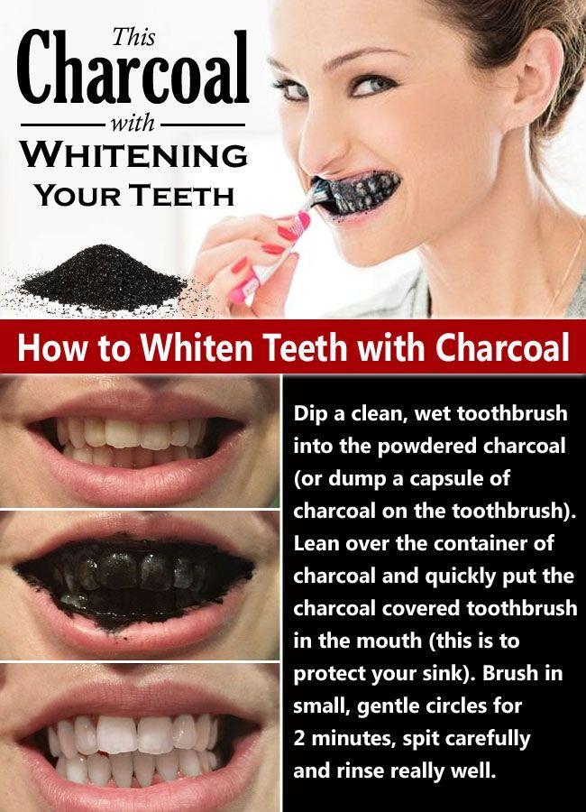 25+ bästa Activated charcoal teeth whitening idéerna på ...