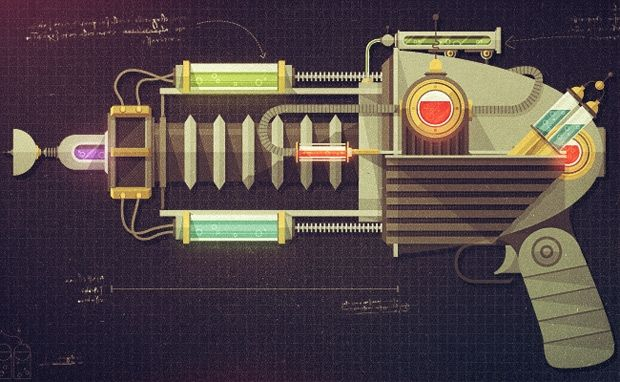 Textured Designs and Illustration by Justin Mezzell