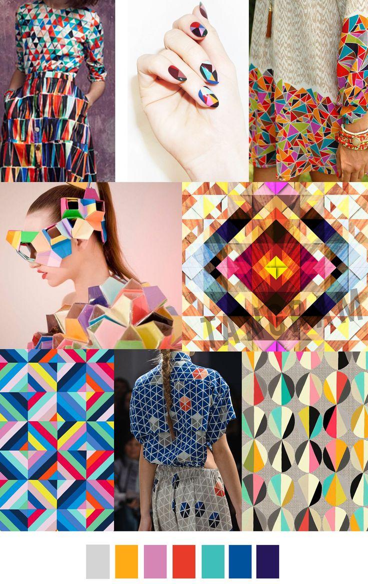 "Trends ss16 ""TIMELESS TANGRAM"" Pattern Curator"