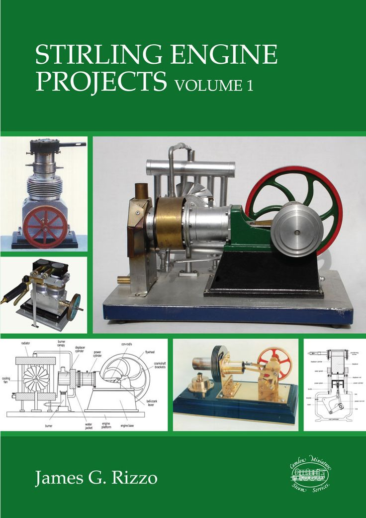 New (July 2016) book from Hot Air Engine guru James Rizzo