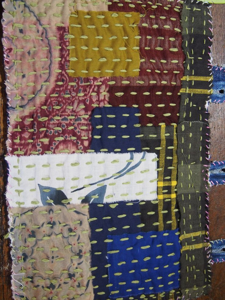 Japanese textile art | Chiku-Chiku