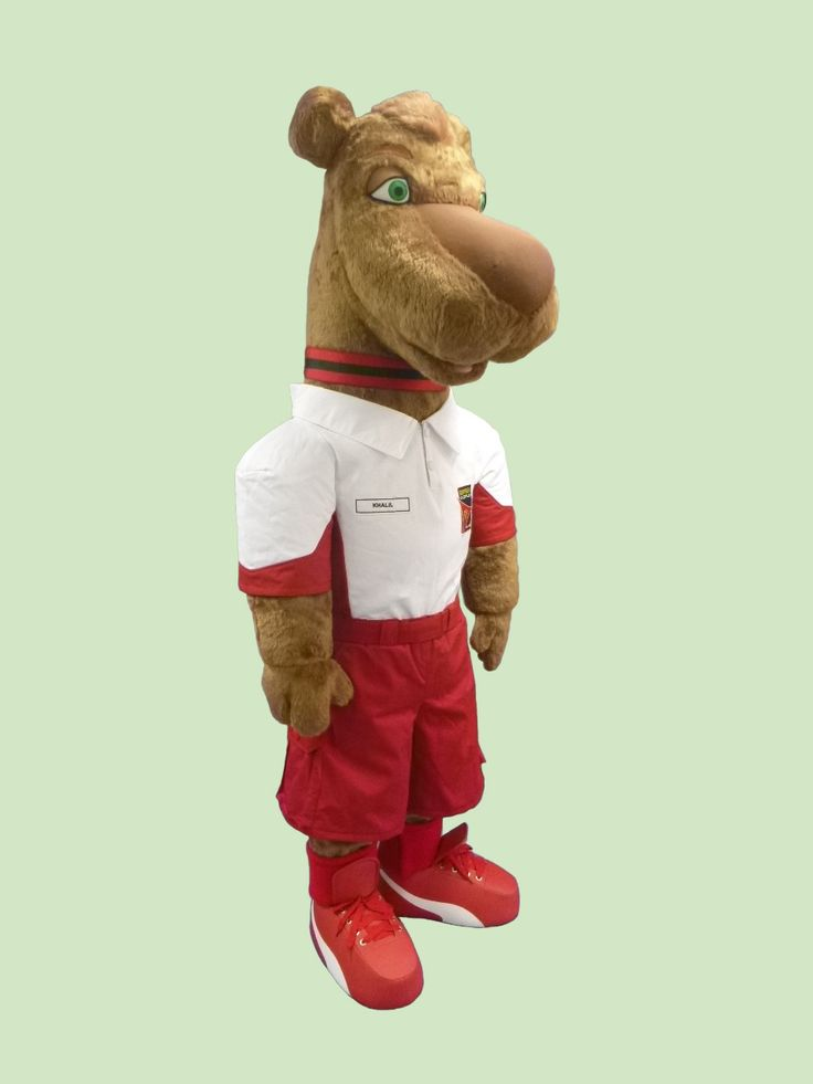 Khalil Camel - UAE #mascot #costume #character #camel #UAE